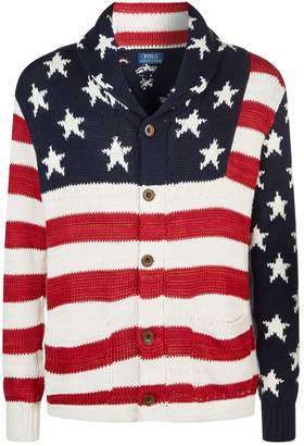 Polo Ralph Lauren Knitted Flag Cardigan