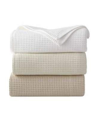 Sferra King Waffleweave Blanket