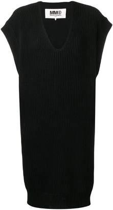 MM6 MAISON MARGIELA V-neck sweater