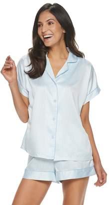 fb56d5326e3c Apt. 9 Women's Notched Collar Satin Pajama Set