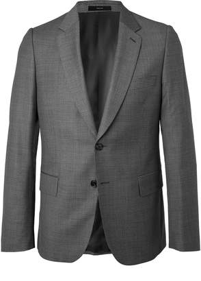 Paul Smith Grey Soho Slim-Fit Puppytooth Wool Suit Jacket