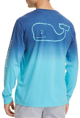 Vineyard Vines Dip Dyed Two-Tone Whale Pocket Tee