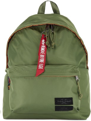 Eastpak X Alpha Industries Army Green Shell Backpack