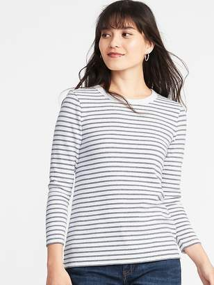 Old Navy Slim-Fit Soft-Brushed Bracelet-Sleeve Tee for Women