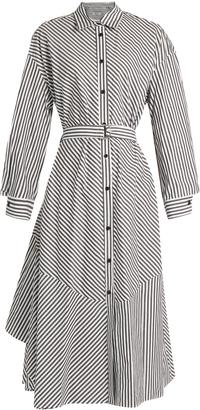 RACHEL COMEY Striped cotton shirtdress $468 thestylecure.com