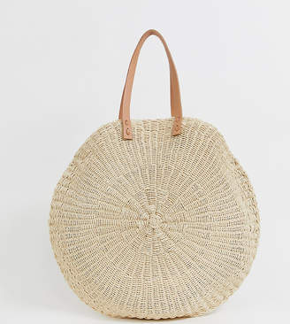 79d62c29e South Beach Exclusive extra large straw beach bag