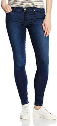 7 For All Mankind Women's THE SKINNY Jeans, Blue (Boston Blue), W30/L30 (Manufacturer size: 30)