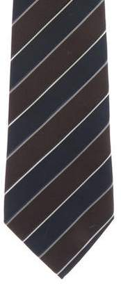 Valentino Striped Silk Tie