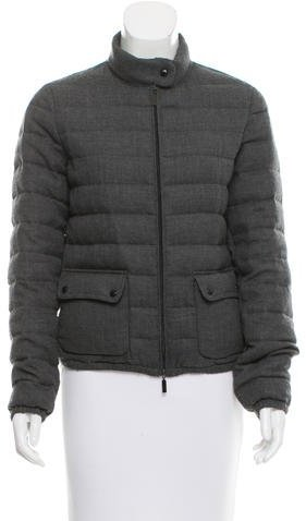 MonclerMoncler Wool Puffer Jacket
