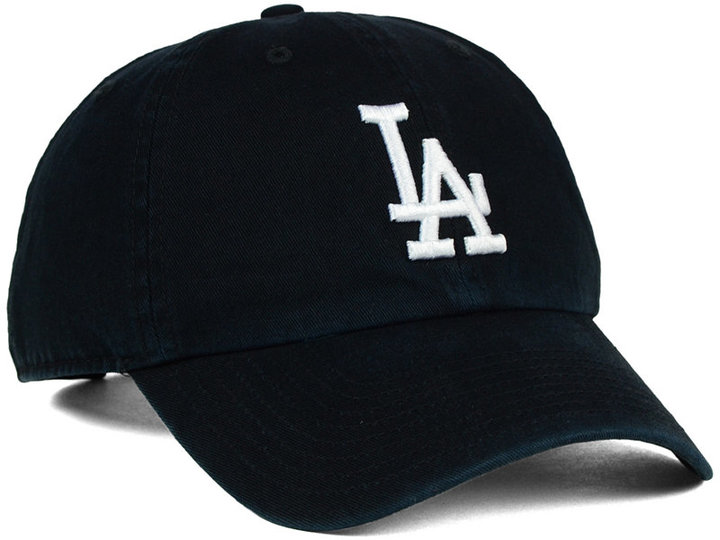 '47 Brand Los Angeles Dodgers Core Clean Up Cap 4