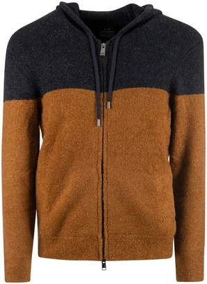 Armani Collezioni Hooded Cardigan