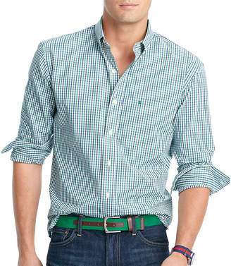 Izod Premium Essentials Slim Fit Long Sleeve Button Down Shirt