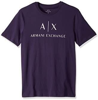 Armani Exchange A X Men's Classic Crew Logo Tee