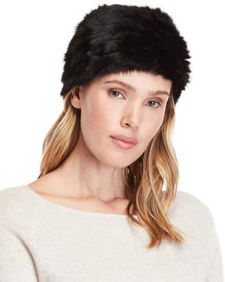 Marcus Collection Adler Pompom Real Fur Hat