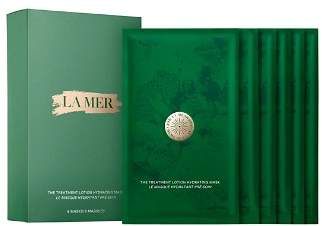 La Mer The Treatment Lotion Hydrating Masks, Set of 6