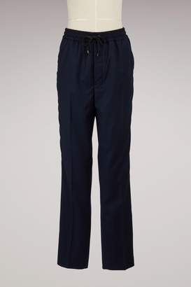 Ami Cropped Virgin Wool Pants