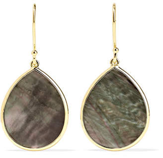 Ippolita Polished Rock Candy 18-karat Gold Shell Earrings - one size