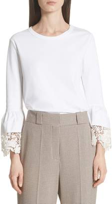 See by Chloe Bell Sleeve Blouse