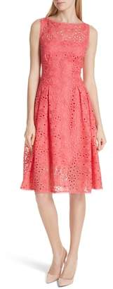 Kate Spade Lace Fit & Flare Dress