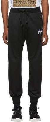 Coach 1941 Black Disney Edition Spooky Eyes Track Pants