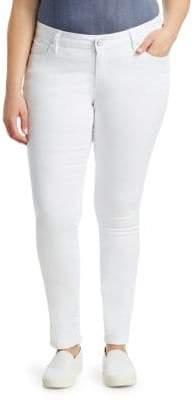 Slink Jeans, Plus Size Charlie Stretch Skinny Jeans