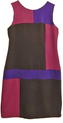 Chetta B Purple Block Dress