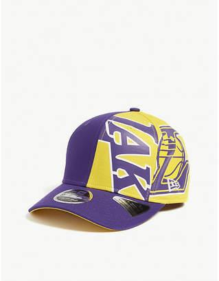 low priced b5238 56d4b New Era LA Lakers 9FIFTY snapback cap