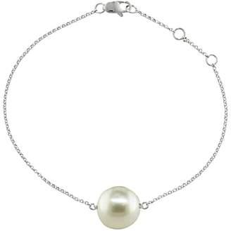 Burlington London Road 9ct White Gold Pearl Bracelet