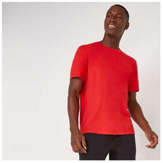 Joe Fresh Men's Short Sleeve Active Tee, Bright Red (Size L)