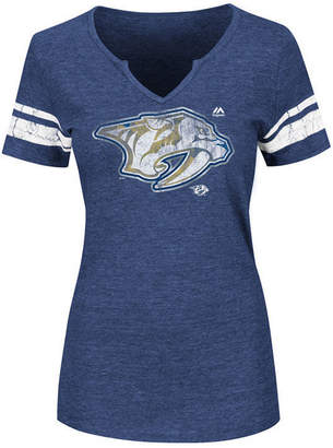 Majestic Women's Nashville Predators Stick to Stick T-Shirt