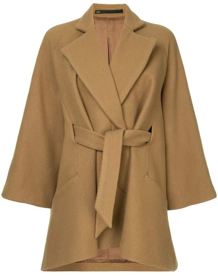 Muller Of Yoshiokubo Bias cape coat