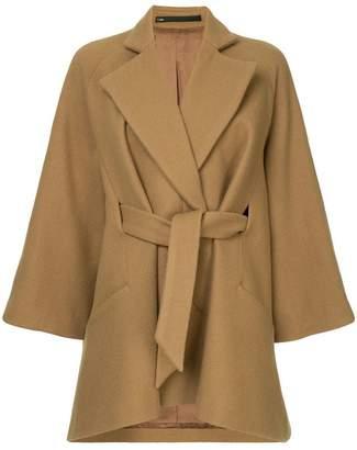 Muller of Yoshio Kubo Muller Of Yoshiokubo Bias cape coat