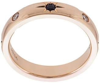 1cbb6d9e6 Marchesa 18kt rose gold, diamond and sapphire wedding band