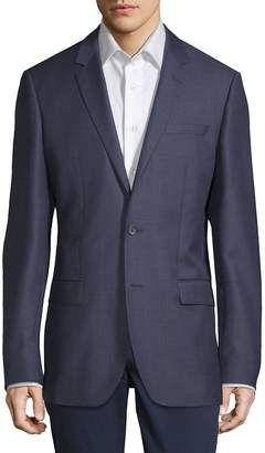 HUGO BOSS Men's Notch Lapel Wool Jacket