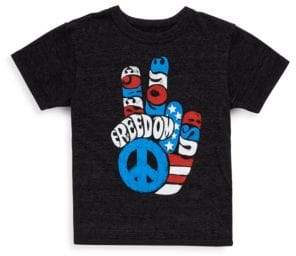 Chaser Little Boy's Freedom Fingers Graphic Tee