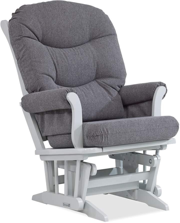 Dutailier Sleigh Glider in Grey/Charcoal