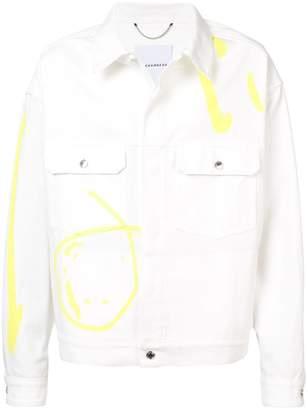 Rochambeau Line Work denim jacket
