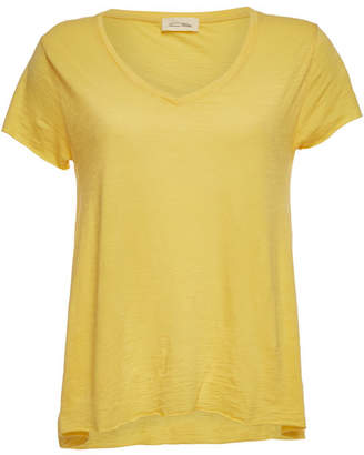 c71ba57212a31e American Vintage Yellow Women's Tees And Tshirts - ShopStyle