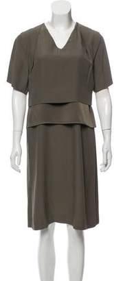 Maison Margiela V-neck Knee-Length Dress
