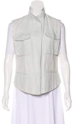 Brunello Cucinelli Woven Zip Vest