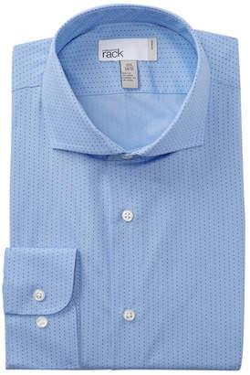 Nordstrom Pin Dot Trim Fit Dress Shirt