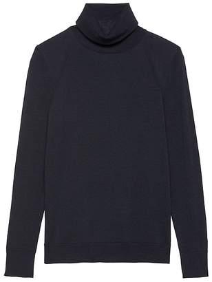 Banana Republic Machine-Washable Merino Wool Turtleneck Sweater