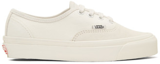 Vans Off-White Suede OG Authentic LX Sneakers $60 thestylecure.com