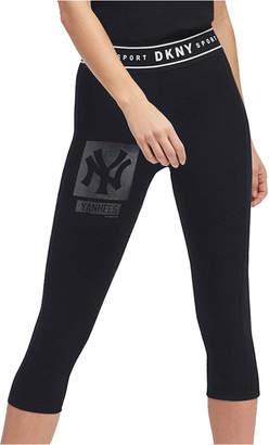 DKNY Women New York Yankees Capri Leggings
