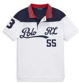 Ralph Lauren Little Boy's& Boy's Mesh Cotton Polo