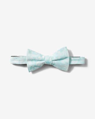 Express Silk-Blend Floral Bow Tie