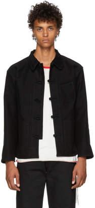 Kozaburo Black Moleskin Work Jacket