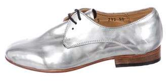 Dieppa Restrepo Metallic Oxfords