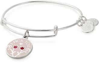 Alex and Ani Color Infusion I Pick You Charm Expandable Bracelet