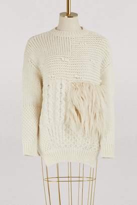 Simone Rocha Alpaca and wool sweater